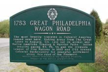 Great Wagon Road marker