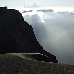 """Tambora Crater Rim."" Image courtesy of Flickr user Paul Hessels."