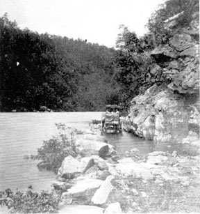 Buncombe Turnpike. Image courtesy of NC Office of Archives & History.