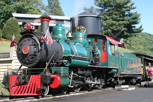 Tweetsie Railroad, Blowing Rock, NC. Image courtesy of Flickr user Carl Grant.