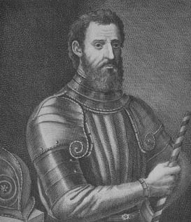 Giovanni da Verrrazano, an early North Carolina explorer. Image courtesy of Learn NC.