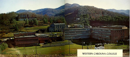 Western Carolina University. Image courtesy of Digital NC.