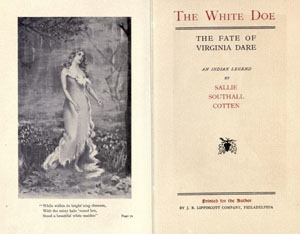 The White Doe title page