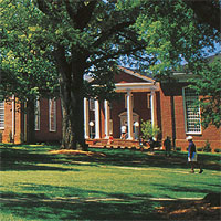 Wingate University. Image courtesy of CFNC.