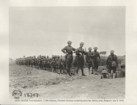 Wwi Combat On The Western Front Ncpedia