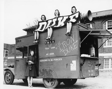 """The Iron Duke,"" 1941. Courtsey of Duke University Archives. Durham, NC."